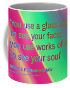 Face And Soul Definitions Coffee Mug
