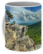 Face In The Cliff Coffee Mug