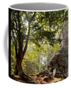Face In The Forest 01 Coffee Mug