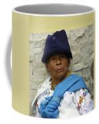 Face Of Ecuador Woman At Cotacachi Coffee Mug