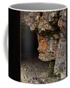 Natures Sclupture - Rock Face Coffee Mug