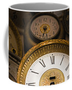 Face Of Time Coffee Mug by Tom Gari Gallery-Three-Photography