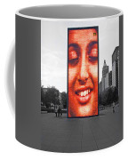 Face On Michigan Coffee Mug