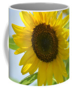 Face To Face With A Sunflower Coffee Mug