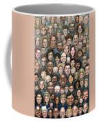 Faces Of Humanity Coffee Mug