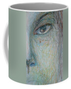 Faces - Right Close Coffee Mug
