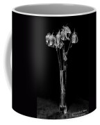 Faded Long Stems - Bw Coffee Mug