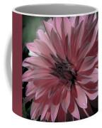 Faded Pink Dahlia Coffee Mug