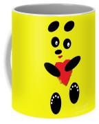 Fading Like A Flower. Panda In Love. 06 Coffee Mug