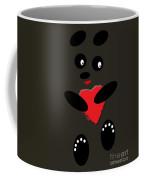Fading Like A Flower. Panda In The Night Coffee Mug