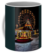 Fairground At Night Coffee Mug