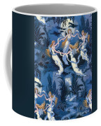 Fairies In The Moonlight French Textile Coffee Mug by Photo Researchers