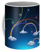 Fairies Made Rainbow Coffee Mug by Gianfranco Weiss
