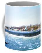 Fairmount Dam And Boathouse Row In Philadelphia Coffee Mug