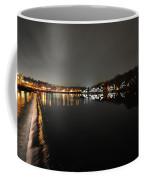 Fairmount Dam And Boathouse Row In The Evening Coffee Mug