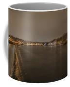 Fairmount Dam At Night Coffee Mug
