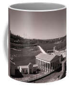 Fairmount Waterworks And Dam In Sepia Coffee Mug