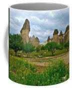 Fairy Chimneys In Cappadocia-turkey Coffee Mug