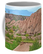 Fairy Chimneys In The Making In Cappadocia-turkey Coffee Mug