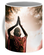 Faith And Prayers For Peace Coffee Mug by Nila Newsom