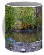 Fall Along The Scioto River Coffee Mug