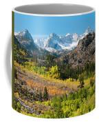 Fall Aspen Below The Sierra Crest Coffee Mug