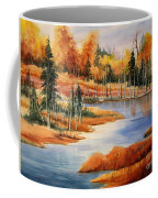 Fall At Elk Island  Coffee Mug