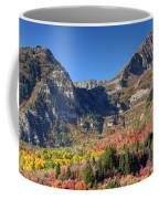 Fall At Mt. Timpanogos From Sundance - Utah  Coffee Mug