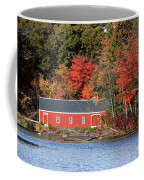 Fall At The Mill Coffee Mug by Jayne Carney