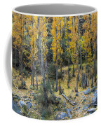 Fall At The River Coffee Mug