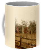 Fall Barn Coffee Mug