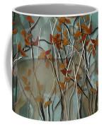 Fall Branches With Deer Coffee Mug