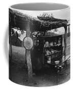 Fall Cattle Round-up Tohono O'odham Reservation Cook's Work Area Hanging Meat For Curing Near Sells  Coffee Mug