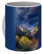 Fall Color Below Middle Palisades Glacier Eastern Sierras California Coffee Mug