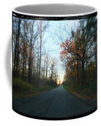 Fall Color Blur Coffee Mug