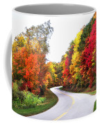 Fall Colors Along The Blueridge Parkway Coffee Mug