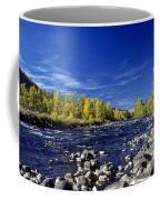 Fall Colors Along The Naches River Coffee Mug