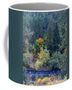 Fall Colors By The Spokane River Coffee Mug