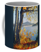 Fall Colors Frame Whiteface Mountain Coffee Mug