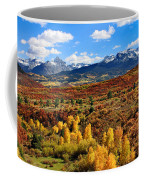 Fall Colors In Ridgway Colorado Coffee Mug