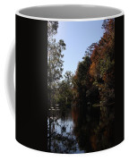Fall Colors In The Swamp Coffee Mug