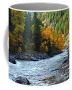 Fall Colors On The River Coffee Mug