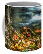 Fall Colors Stream Great Smoky Mountains Painted  Coffee Mug
