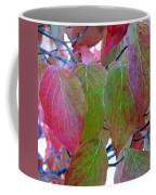Fall Dogwood Leaf Colors 1 Coffee Mug