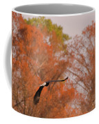 Fall Eagle Coffee Mug