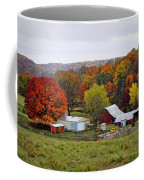 Fall Farmstead Coffee Mug by Cricket Hackmann