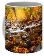 Fall Flow At Mcgee Creek Coffee Mug