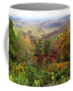 Fall Folage 3 Along The Blueridge Coffee Mug
