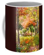 Fall Folage And Pond Coffee Mug