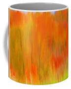 Fall Foliage Abstract Coffee Mug